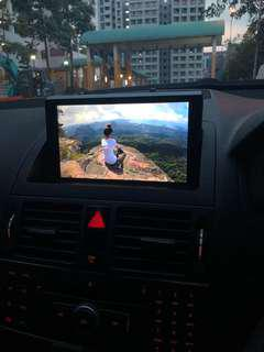 OEM LCD For merc w204