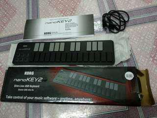 KORG NANO KEY2 Slim-line USB Keyboard