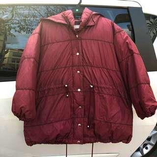 Red Winter Coat / Winter Jacket
