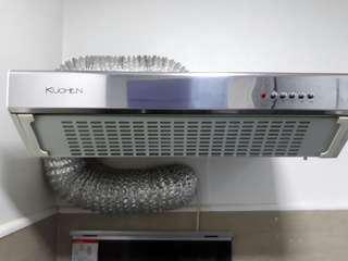 Kutchen Oven Exhaust with Light