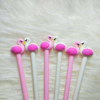 Pulpen karakter flaminggo