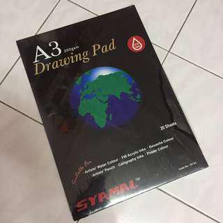 Syamal A3 Drawing Pad 200gsm
