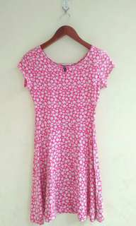 COTTON ON FLOWERY DRESS