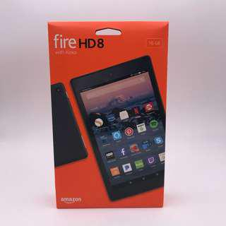 Brand New Fire HD 8 Tablet with Alexa