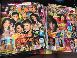Teen Magazines (J-14,tiger beat,bop,seventeen,hot)