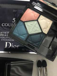 Dior Eyeshadow #357 5 colour