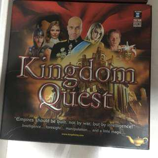Kindom quest strategic board game