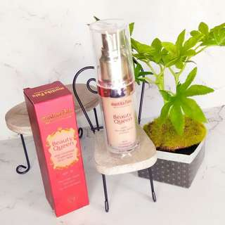 Mustika Ratu Beauty Queen High Coverage Foundation Dewy Finish - Nude Beige