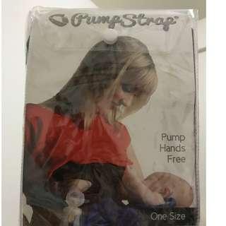 Pump Strap 吸乳哺乳兩用支托帶(黑色)
