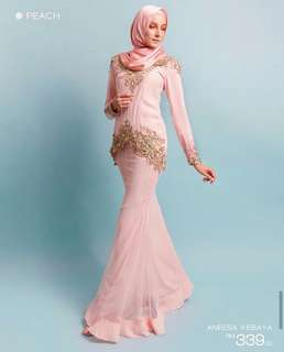 Baju Kurung MINAZ- PRELOVED