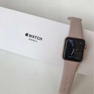 Used Apple Watch Series 3 Rose Gold for Sale!