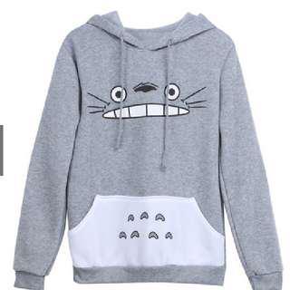 Totoro Drawstring Hoodie