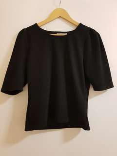 Temt Black Blouse