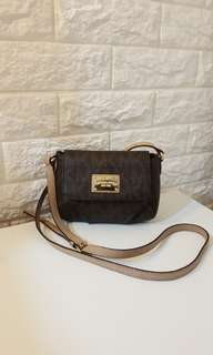 Auth Michael Kors Mini Sling coach kate spade