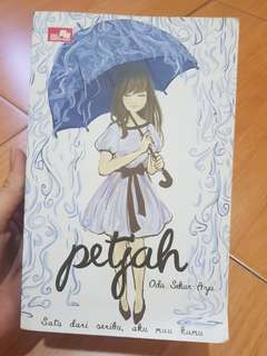 Buku novel petjah
