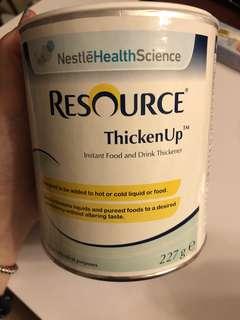 力源素 快凝寶 resource thicken凝固粉