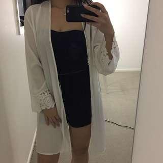 White Kimono - Cotton On Body