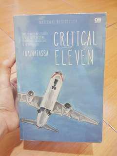 Buku Novel Bestseller Ika Nitassa 'critical eleven'