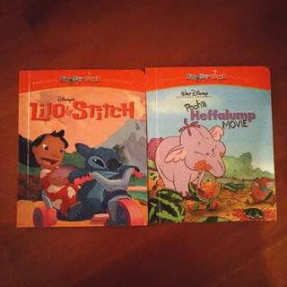 (op: $25) Disney funstatic collection storytime lilo and stitch pooh's heffalump movie winnie the pooh english book for kids