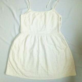 Gap White Dress with Pockets
