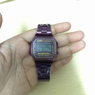 Casio Retro Purple Viral Watch