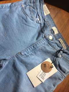 Women's cotton on jeans