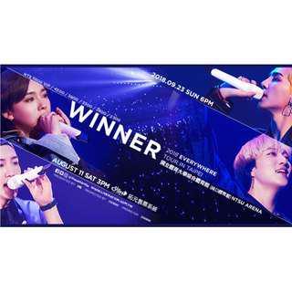 2018/09/23 WINNER 2018 EVERYWHERE TOUR IN TAIPEI