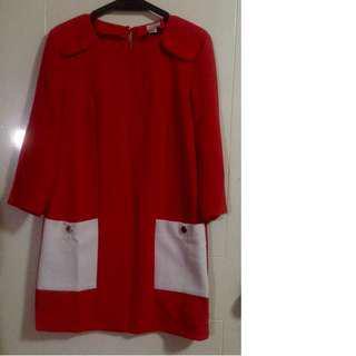 H&M short red dress
