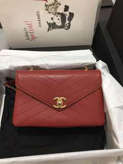 Chanel bag with warranty