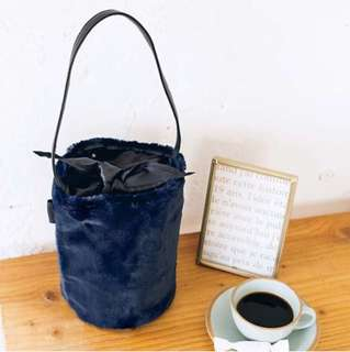 🇯🇵 Demi-Luxe Beams Two-Way Handbag from Japan (Navy Blue)