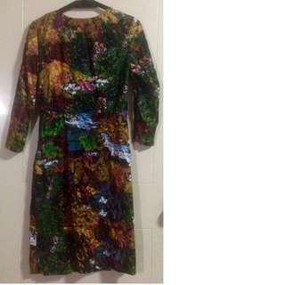 H&M printed dress