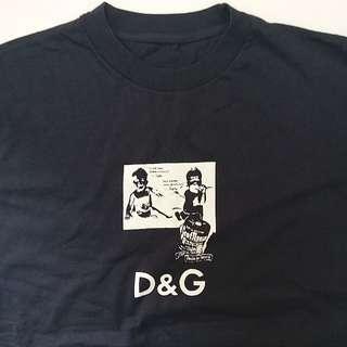 DOLCE GABBANA 的 D&G系列 T恤   DOLCE GABBANA (D&G) T-shirt
