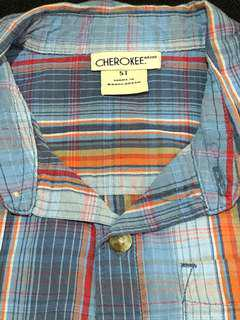 Cherokee Checkered Polo