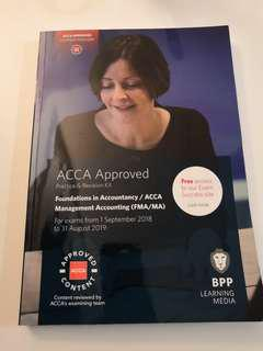 "LATEST"" Acca F2 management accounting FMA/MA pratice&revision kit"