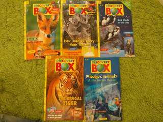STEM書 Discovery Box 5本 再免費送贈品 (兒童自然科學科技雜誌 Bayard出版與Adventure Box一樣)