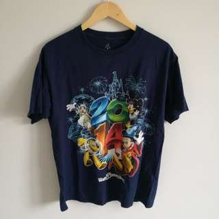 Walt Disney World Navy Graphic Tee