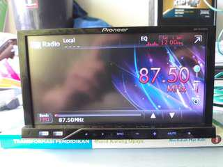 Pioneer 4350DVD car radio double din