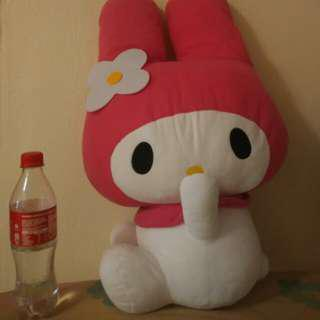 PRE-LOVED ORI Melody sunrio plush around 55cm tall