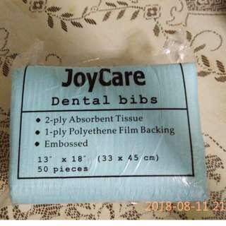 Joycare Disposable Bibs 50 pieces in a packet