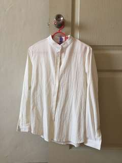 Off White Long Sleeve Shirt #Android100