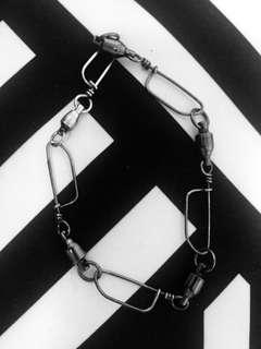 The Lines & Sinkers Anklet (AUS handmade: high-quality fishing gear)