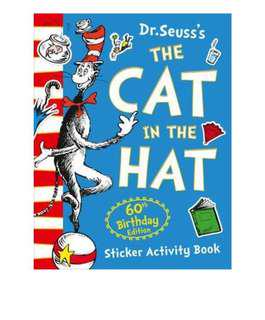 Dr Seuss's the cat in the hat sticker activity book