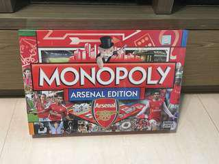全新 Monopoly 大富翁 Arsenal Edition 阿仙奴