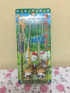 Hello kitty日本名勝電話繩(購自日本現貨,適合珍藏)