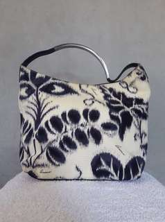 💯Authentic Original Gucci Limited Edition Floral Metal Handle Bag