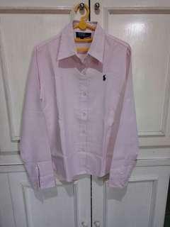 Polo ralph lauren kemeja pink