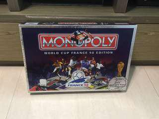 Monopoly 大富翁 World Cup France 98 Edition 法國世界盃