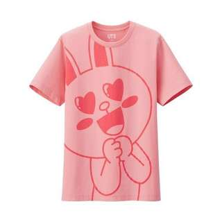 🚚 Uniqlo Line Friends Cony Pink T-shirt