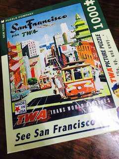 1000 Piece Jigsaw Puzzle - San Francisco / 1000塊 三潘市 拼圖