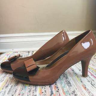 Heels / made in Japan, genuine leather
